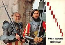 Cartolina Marostica Partita a scacchi Personaggi