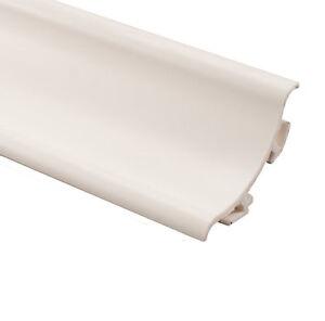 50 x PVC White Bath/Shower Seal by Genesis (SRP) 1.8m length
