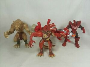 Duel Masters Action Figure Lot Hellion Horvath Fear Fang Wizards Hasbro 2003