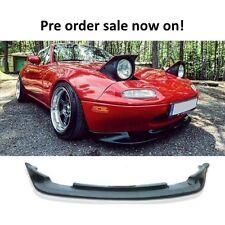 Mazda MX5 MK1 gv estilo frontal Lip 90-97 na splitter spoiler Miata de poliuretano