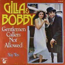 "7"" GILLA & BOBBY FARRELL Gentlemen Callers Not Allowed FRANK FARIAN HANSA 1977"
