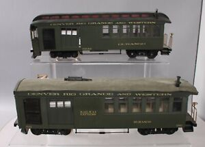 Bachmann G Scale Modified Denver & Rio Grande Western Passenger Cars [2]