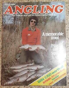 ANGLING FISHING MAGAZINE   3 1981 MARCH VGC