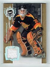 07-08 UD The Cup  Richard Brodeur  /25  Jersey  THN Top 100 Goalies of All-Time