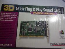 Digital Research Technologies (DRSOUND3D) 16 Bit PLug & Play Sound Card