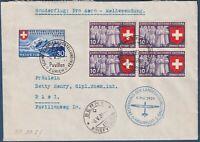 "Svizzera -1939 - Volo PRO AERO ""Meldefluge"" - via Berna"