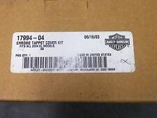 Harley Davidson Chrome Tappet Cover Kit 17994-04  for Sportster -New Older Stock