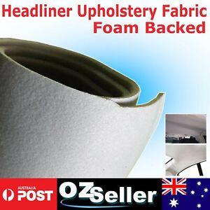 Reupholstery Foam Headliners Headlining Material Fabric Car Truck Auto 1.5Mx1.2M