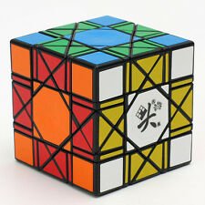 Dayan 2016 6 axis 8 rank Cube bagua Magic Cube Twist Puzzle Black DY
