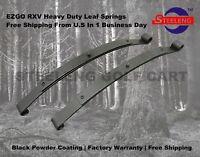 Heavy Duty Rear Leaf Springs for EZGO RXV Golf Cart 2008 Up  (2 Leafs/Set of 2)