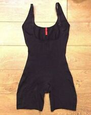 Spanx 991 Slimplicity Open Bust Mid Thigh Bodysuit - Black Sz L New w Tags Z7