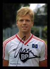 Thomas Hinz Autogrammkarte Hamburger SV 1986-87 Original + A 206752