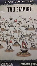 Warhammer 40K START COLLECTING TAU EMPIRE Ethereal & Fire Warriors & Crisis Team