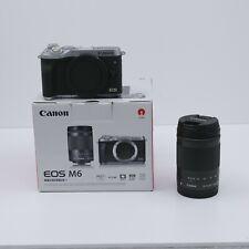 Canon EOS M6 24.2MP Fotocamera Reflex Digitale (Kit con EF-M 18-150mm...