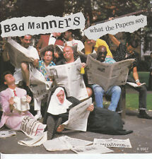 """7"""" 45 TOURS HOLLANDE BAD MANNERS """"What The Papers Say / Louie Louie"""" 1985"""