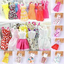 70pcs Items Barbie Clothes Lot Doll Dresses Shoes Accessories Jewellery Set Girl