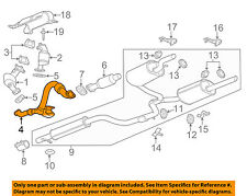 Chevrolet GM OEM 12-13 Impala 3.6L-V6 Exhaust System-Crossover Pipe 20831822