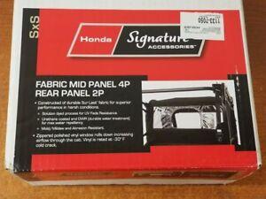 Honda Pioneer 700 SXS700 Fabric Window Panel M2-Rear M4-Mid 0SR95-HL3-211A OEM