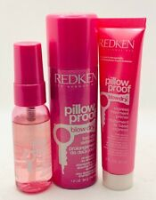 Redken Pillow Proof Blow-Dry Cream and Sprays BUNDLE OF 3 ( 1 OZ. )