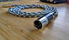 "Litz OCC Copper Pure Silver cable for Audeze LCD2 LCD3 LCD4 LCDX LCDXC 1/4"" XLR"