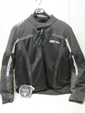 New BRP Can-am Mens Summer Mesh Riding Jacket Coat Black XLARGE XL #C105
