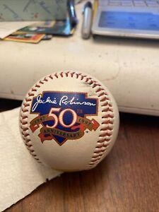 Jackie Robinson 50th Anniversary 1947 - 1997 Baseball Minor scuffing Chrylsler
