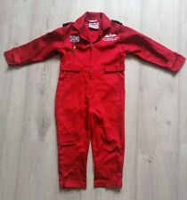 Red Arrows Suit Overalls / Boiler Suit Fancy Dress Up Age 2-3 Years