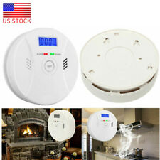 Combo CO Detector & Smoke Sensor Carbon Monoxide Detector &Smoke Fire Alarm