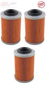 3-PACK Can-Am Outlander 330 400 450 500 570 650 800 850 1000 HF152 Oil Filter