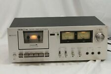 Cassette Deck Project 1 Fld-2510 Single Silverface Tested Guaranteed