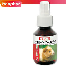 Beaphar 100 ml Ungeziefer Zerstäuber Milben Ungeziefer Schutz Flöhe