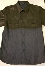 Mission Clothing Short Sleeve Men's Short Sleeve Button Front Shirt Made in USA