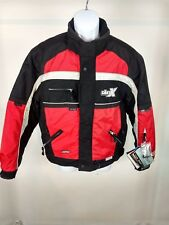 Castle Snowmobile Racing Jacket Sz Sm Red / Black Brand New w tags