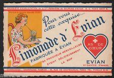 Etikett für Limonade d'Evian - Frankreich- ca.1930 # 1087