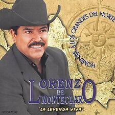 De Montecarlo, Lorenzo : Homenaje a Los Grandes Del Nor CD