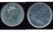 CANADA 10 cent  1992