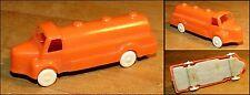 Micro miniature 1/87ème camion citerne Berliet orange 1960-70 sans marque N°14
