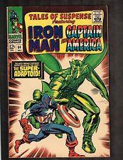 Tales of Suspense #84 ~ Iron Man/ Captain America/super Adaptoid ~ 1966 (3.5) Wh