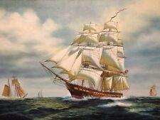 Original O/C Ship Painting By Edgar S. Nucum