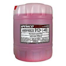 20 (1x20) Liter PEMCO ANTIFREEZE 912+ Kühlerfrostschutz für Ford, Opel, Mercedes