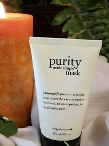 Philosophy - Purity Made Simple - Deep-Clean Mask 4 oz