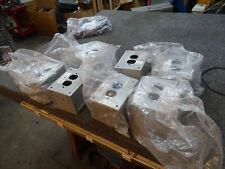 Lot of 7 Mier Products BW-375G Transformer Enclosure ASA 70 Gray