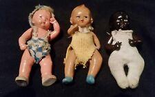 Trois anciennes/VINTAGE BABY DOLLS