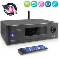 Pyle PT696BT 5.2-Ch Wireless BT Surround Sound Stereo Amplifier Streaming Home T