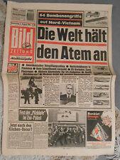 Bild-Zeitung 6. August 1964 -Vietnam Krieg - Beatles BILD