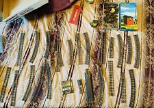 Lot Used Atlas HO Nickel Steel Model Railroad Train Track~Switches~Accessories