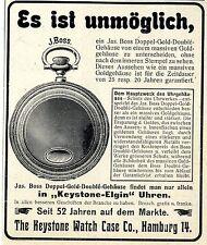 Bolsillos-relojes the Keystone watch case co. hamburgo/Estados Unidos Keystone-Elgin anuncio 1906