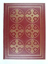 Easton Press The Confessions of St Augustine Leather Bound Hardcover Rare ERROR