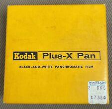 Kodak Plus-X Pan Film 35mm x 100ft Black & White Panchromatic PX 402 Exp. 9/1962
