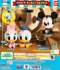Bandai Capchara Disney Friends Part 2 Gashapon Mickey Donald Daisy Set of 3pcs